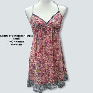 Liberty of London Target Pink Floral Slip Dress